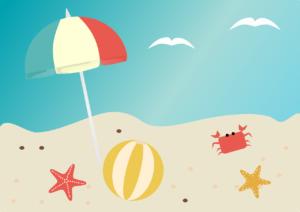 Zwemfeestje in zomervakantie
